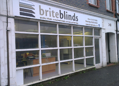 Brite Blinds Shopfront