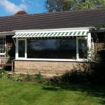 Markilux 730 drop arm awning