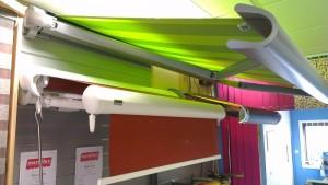 Markilux awning display