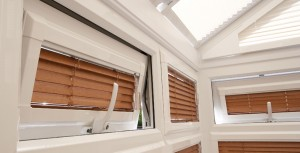 Perfect Fit Wood venetian blinds