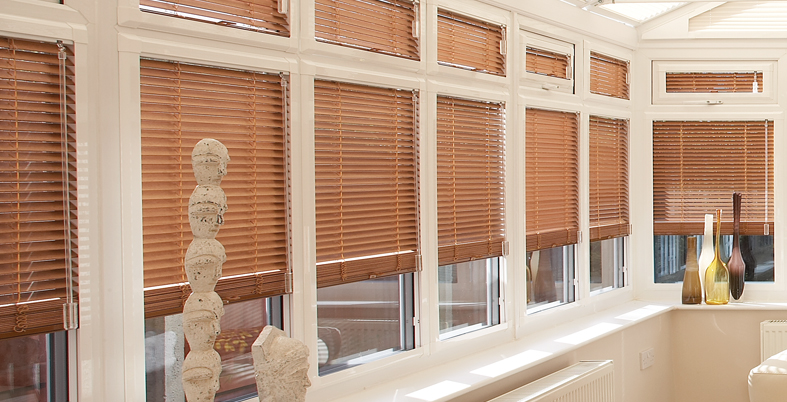Perfect Fit Wood Venetian Blinds