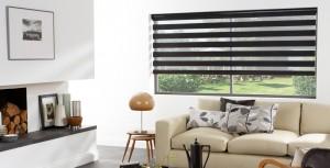 Louvolite Vision blinds in black