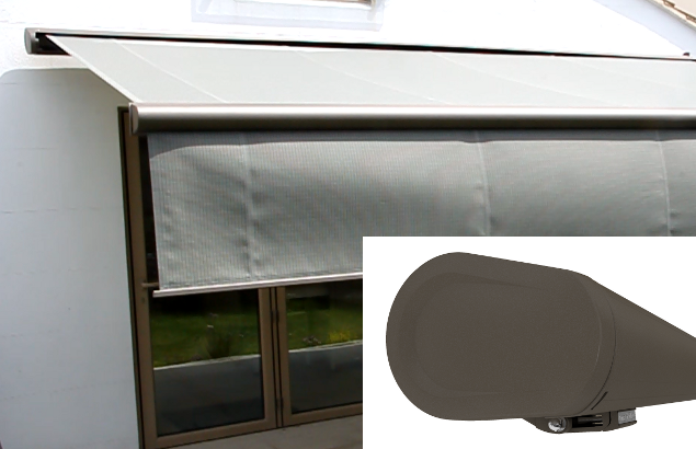 Markilux 5010 with shadeplus drop valance